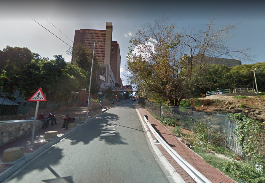Nugget Street In Hillbrow